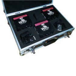 WiFly Funk-Transceiver für Akku-Scheinwerfer im Transport-Koffer