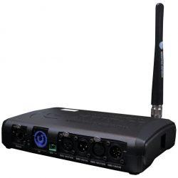 Wireless Solution BlackBox F-1 W-DMX Transceiver Rückseite